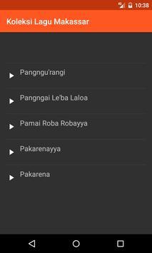 Koleksi Lagu Daerah Makassar screenshot 2