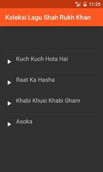 Koleksi Lagu Shah Rukh Khan poster