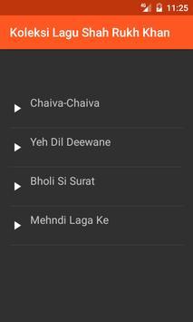 Koleksi Lagu Shah Rukh Khan screenshot 2
