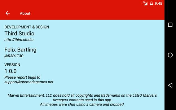 Cheats: LEGO Marvel's Avengers APK Download - Free Entertainment ...