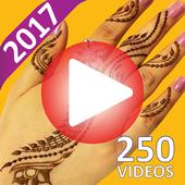 Top 250 Henna Design Video Tutorials icon