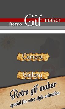 Gif Camera - Retro Effect poster