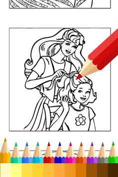 Coloring Book for barbi Fans apk screenshot