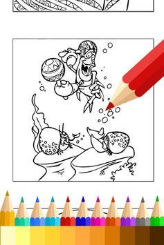 Coloring Book Mermaid Princess apk screenshot