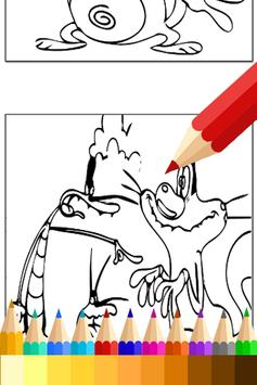 Coloring Book for Oggy Fans apk screenshot