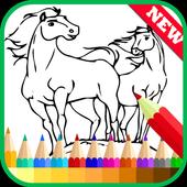 Coloring Book Spirit Stallion icon