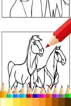 Coloring Book Spirit Stallion apk screenshot