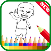 Coloring Upin Book Ipin Pages icon