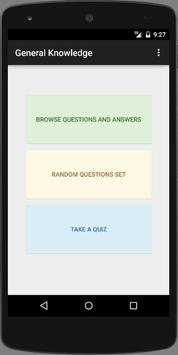 GK General Knowledge Questions screenshot 1