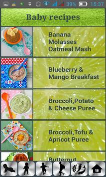 Baby Nutrition & Recipes screenshot 1