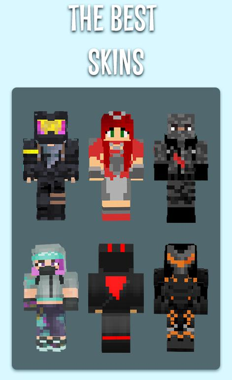 Fortnite Skins For Minecraft Pe For Android Apk Download