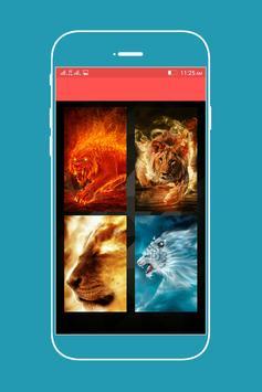 Lion jungle Lock Screen Lock apk screenshot