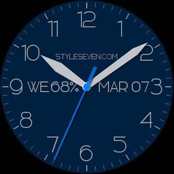 Modern Analog Clock AW-7 apk screenshot