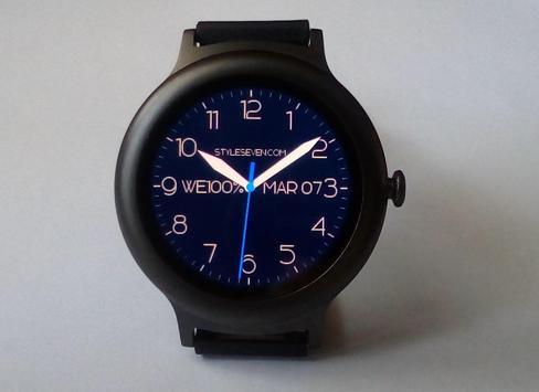 Modern Analog Clock AW-7 poster