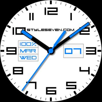 56cfe9aff Square Analog Clock AW-7 for Android - APK Download