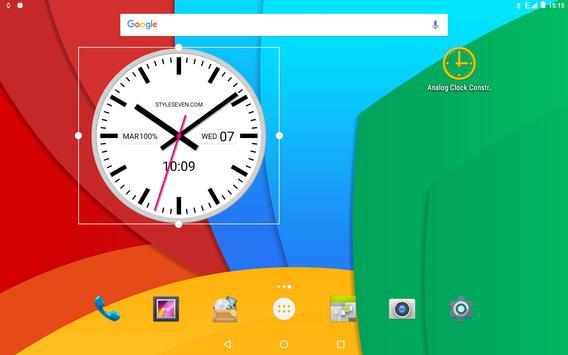Swiss Analog Clock-7 apk screenshot