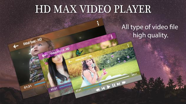 Max Player - HD Video Player 2017 poster