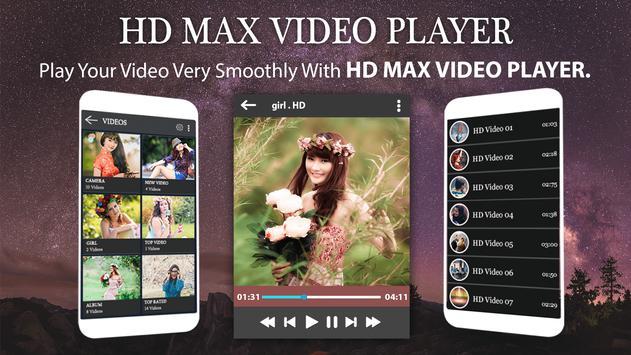 Max Player - HD Video Player 2017 apk screenshot