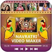 Navratri Photo Video Maker With Music 2017 icon