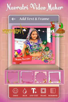 Navratri Photo Video Maker With Music 2017 apk screenshot
