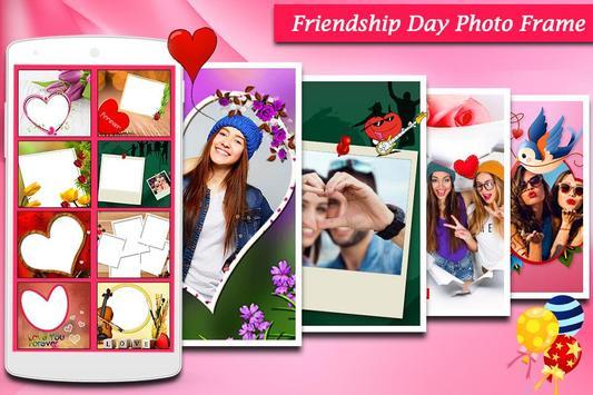Friendship Photo Frame poster