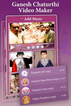 Ganesh Chaturthi Photo Video Maker With Music 2017 apk screenshot