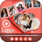Love Photo Video Maker With Music : Love Slideshow icon