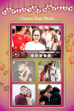 Love Photo Video Maker With Music : Love Slideshow poster