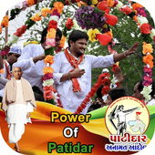 Patidar DP Maker : I Support Patidar 2017 icon