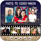Photo To Video Maker With Music 2017 : Music video icon