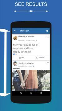 Stalkscan apk screenshot