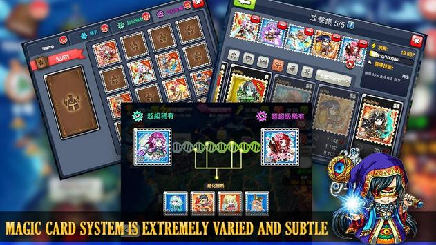 Stamp War -Thousand years war screenshot 11