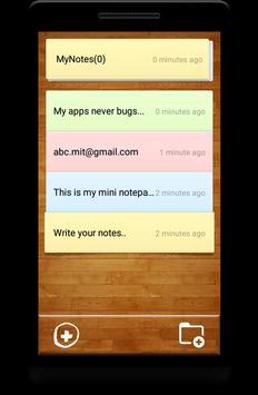 Notes apk screenshot