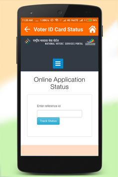 Voter ID Card Online Services apk screenshot