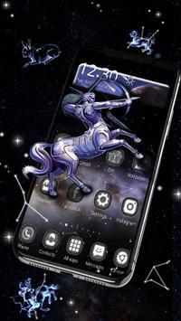 3D Star chart Twelve constellations Theme poster