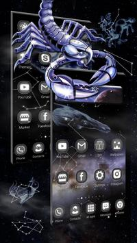 3D Star chart Twelve constellations Theme screenshot 1
