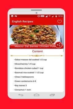 Food Recipes screenshot 8