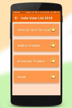 India Voter List 2018 screenshot 1