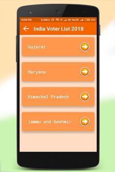 India Voter List 2018 screenshot 2