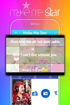 Make Me Star: Sing Free Karaoke Songs apk screenshot