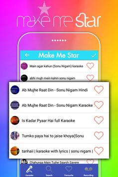 Make Me Star: Sing Free Karaoke Songs poster