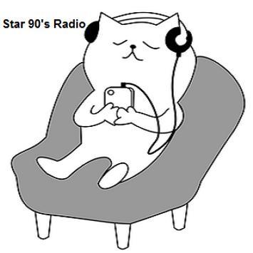 Star 90's Music Radio poster