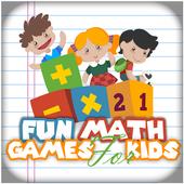 Fun Math Games for Kids icon