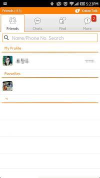 MIUI v4 kakaotalk theme apk screenshot