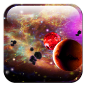 Space Planets HD LWP icon
