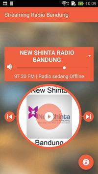 Bandung Radio Streaming apk screenshot