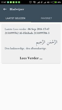 Quran en Vertaling Dutch screenshot 3