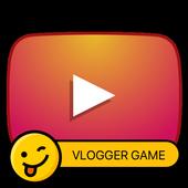 Video blogger simulator icon