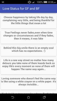 Love Status & Quotes GF & BF screenshot 5