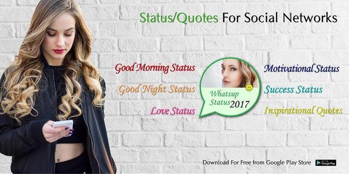 Motivational Status For Social Networks 2018 apk screenshot